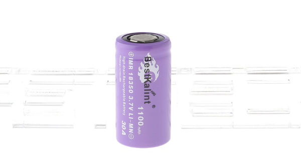 "Authentic BestKalint IMR 18350 3.7V ""1100mAh"" Rechargeable Li-Mn Battery"