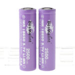 "Authentic BestKalint IMR 18650 3.7V ""2500mAh"" Rechargeable Li-Mn Batteries (2-Pack)"