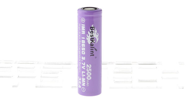 "Authentic BestKalint IMR 18650 3.7V ""2500mAh"" Rechargeable Li-Mn Battery"