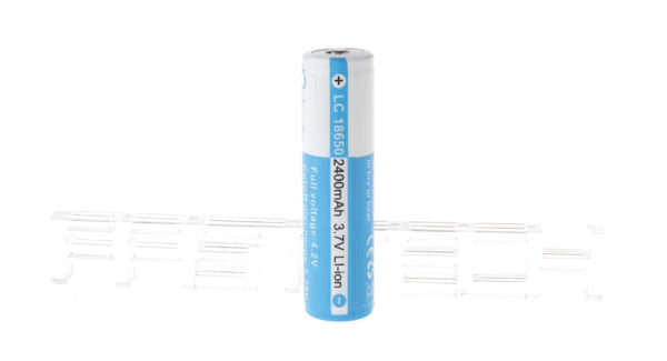 Authentic Brinyte LC 18650 3.7V 2400mAh Rechargeable Li-ion Battery