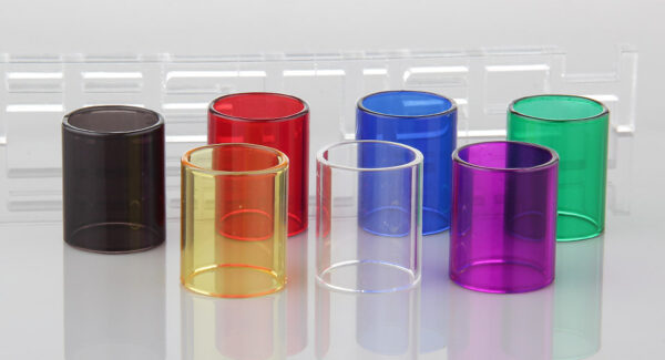 Authentic Clrane Replacement Glass Tank for Aspire Cleito Clearomizer (7 Pieces)