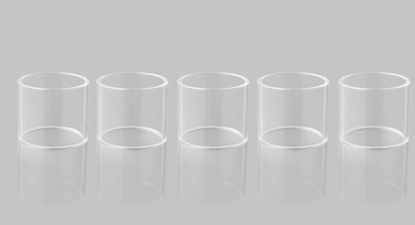Authentic Clrane Replacement Glass Tank for CoilART MAGE RTA Atomizer (5-Pack)