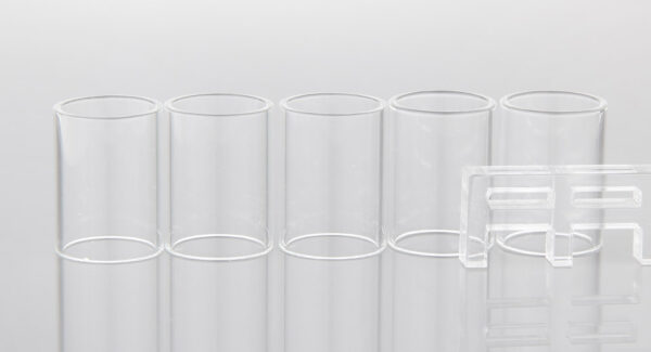 Authentic Clrane Replacement Glass Tank for Eleaf Melo 3 Cleromizer (5-Pack)