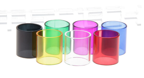 Authentic Clrane Replacement Glass Tank for Tesla Blade 24 Clearomizer (7 Pieces)