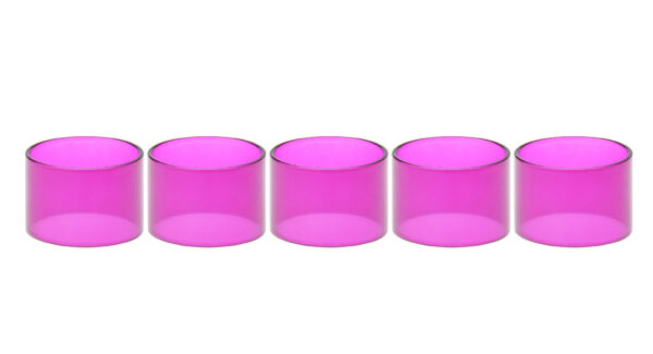 Authentic Clrane Replacement Glass Tank for Wotofo Serpent Mini 25mm RTA Atomizer (5-Pack)