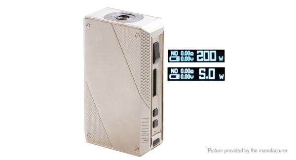 Authentic EHPRO Cold Steel 200 200W TC VV VW APV Box Mod (Regular Version)
