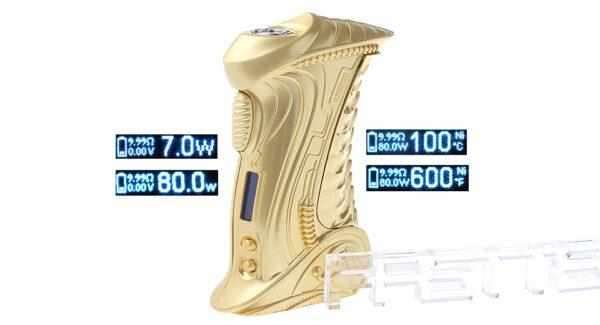 Authentic ETALIENS E.T-X2 80W VW APV E-cigarette Box Mod