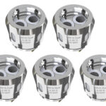 Authentic Eleaf ELLO Duro Replacement HW-N Dual Coil Head (5-Pack)