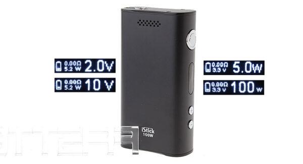 Authentic Eleaf iStick 100W Variable Voltage / Wattage APV Box Mod