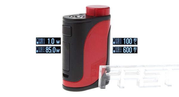 Authentic Eleaf iStick Pico 25 85W VW TC APV Box Mod (Black Red)