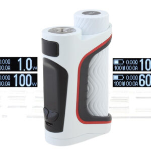 Authentic Eleaf iStick Pico S 100W TC VW APV Box Mod (White)