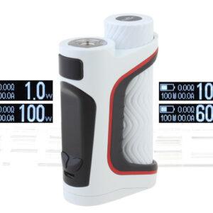 Authentic Eleaf iStick Pico S 100W TC VW APV Box Mod (White)