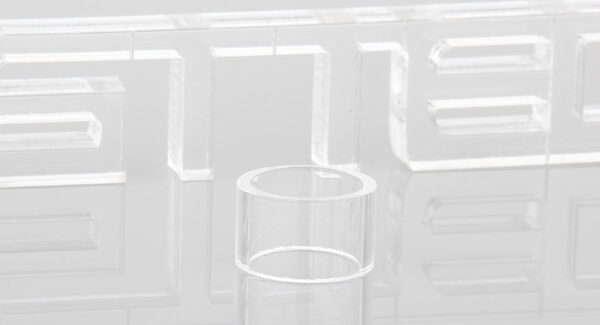Authentic Focusecig Wanko 17 RDTA Atomizer Replacement Glass Tank