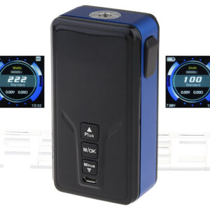 Authentic GTRS VBOY 222W TC VW APV Box Mod