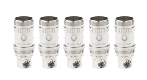 Authentic HCigar Mascot Replacement BVC Coil Head (5-Pack)