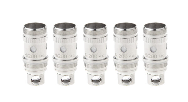 Authentic HCigar Mascot Replacement Ni200 BVC Coil Head (5-Pack)
