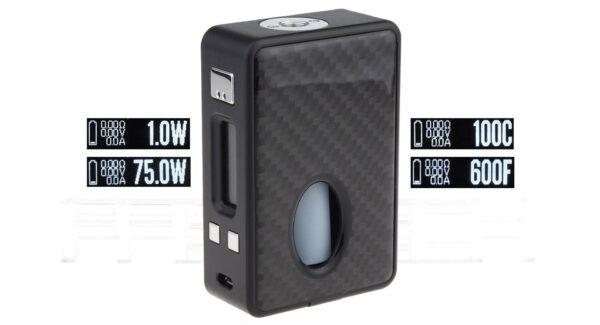 Authentic HCigar VT Inbox V3 75W TC VW APV Box Mod