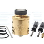 Authentic Hellvape Drop Dead RDA Rebuildable Dripping Atomizer