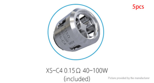 Authentic IJOY EXO X Tank Replacement XS-C4 Coil Head (5-Pack)