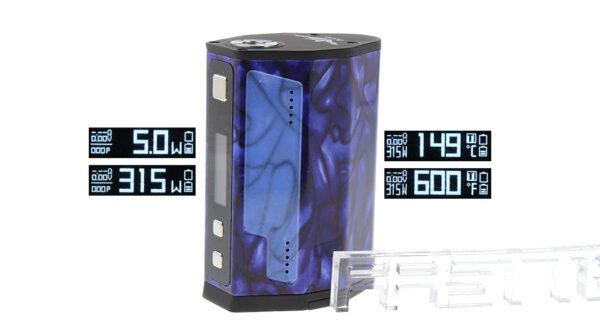 Authentic IJOY MAXO 315W TC VW APV Box Mod