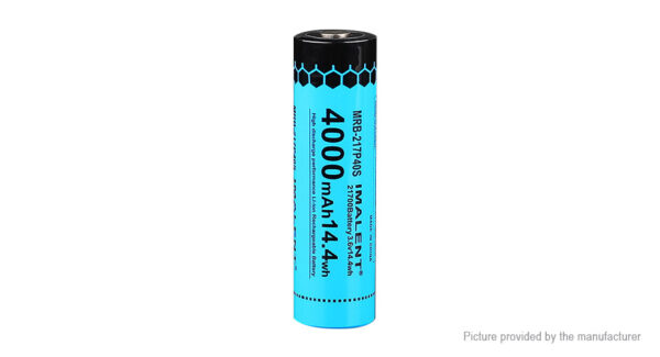 Authentic IMALENT 21700 3.7V 4000mAh Rechargeable Li-ion Battery