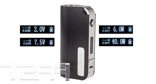 Authentic Innokin Cool Fire IV 40W 2000mAh VW/VV APV Box Mod