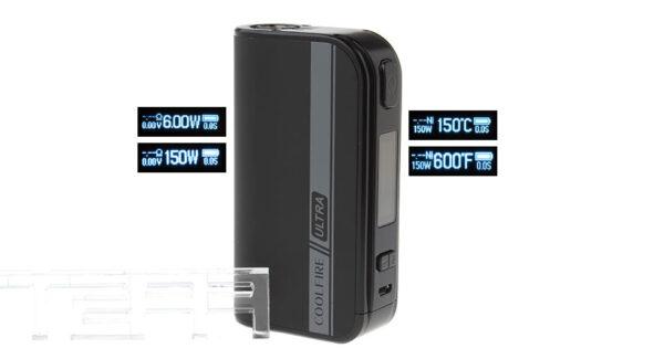 Authentic Innokin CoolFire ULTRA 150W 4000mAh TC VW APV Box Mod