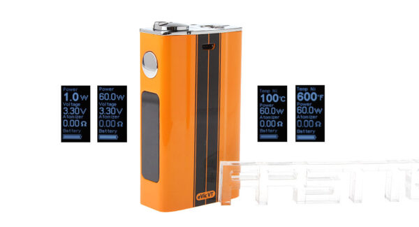 Authentic Joyetech eVic VT 60W 5000mAh TC VW Variable Wattage Mini Box Mod