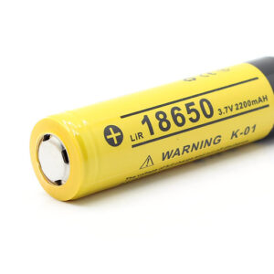 Authentic KLARUS K-01 18650 3.7V 2200mAh Rechargeable Li-ion Battery