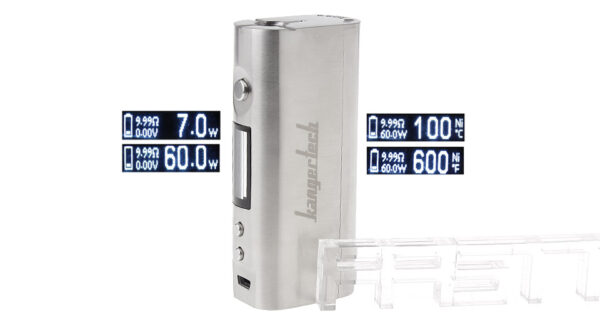 Authentic KangerTech KBOX Mini 60W VW TC APV Box Mod