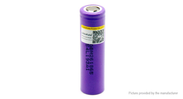 Authentic LiitoKala 18650 3.6V 2600mAh Rechargeable Li-ion Battery