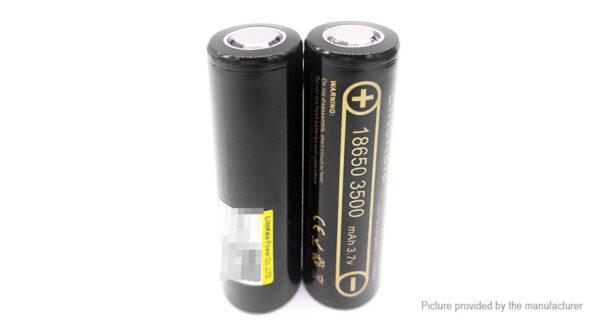 Authentic LiitoKala ICR 18650 3.7V 3500mAh Rechargeable Li-ion Battery