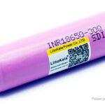 Authentic LiitoKala INR 18650 30Q 3.7V 3000mAh Rechargeable Li-ion Battery