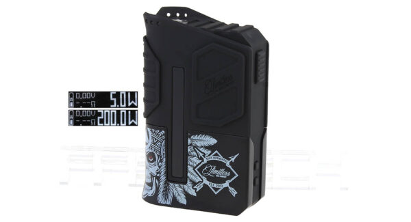 Authentic Limitless Arms Race LMC V2 200W TC VW APV Box Mod