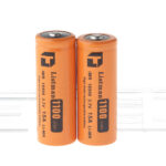 Authentic Listman IMR 18500 3.7V 1100mAh Rechargeable Li-Mn Batteries (2-Pack)