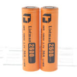 "Authentic Listman IMR 18650 3.7V ""2600mAh"" Rechargeable Li-Mn Batteries (2-Pack)"