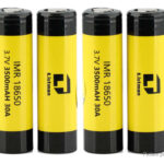 Authentic Listman IMR 18650 3.7V 3500mAh Rechargeable Li-Mn Batteries (4-Pack)