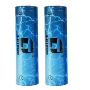 Authentic Listman IMR 20700 3.7V 3400mAh Rechargeable Li-Mn Batteries (2-Pack)