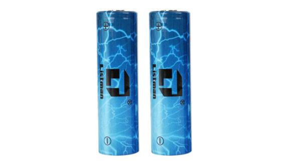 Authentic Listman IMR 20700 3.7V 3400mAh Rechargeable Li-Mn Batteries (2-Pack)