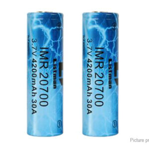 Authentic Listman IMR 20700 3.7V 4200mAh Rechargeable Li-ion Batteries (2-Pack)