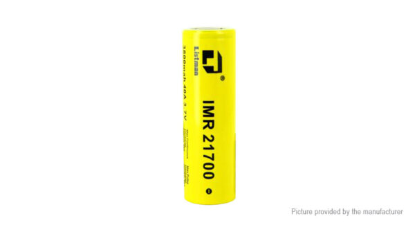 Authentic Listman IMR 21700 3.7V 3800mAh Rechargeable Li-Mn Batteries