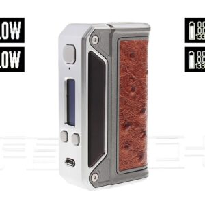 Authentic Lost Vape Therion DNA133W TC VV VW APV Box Mod (Red Ostrich)