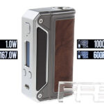 Authentic Lost Vape Therion DNA166W TC VV VW APV Box Mod (Dark Brown)