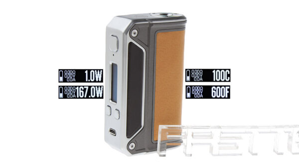 Authentic Lost Vape Therion DNA166W TC VV VW APV Box Mod (Yellow)