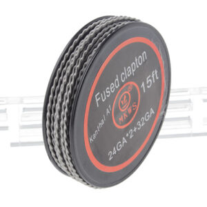 Authentic MKWS Kanthal A1 Fused Clapton Resistance Wire for RBA Atomizers