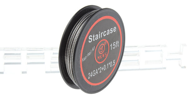 Authentic MKWS Kanthal A1 Staircase Heating Wire for RBA Atomizer