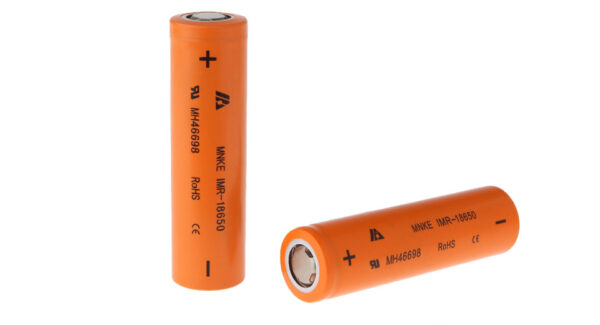 Authentic MNKE IMR 18650 3.8V 1500mAh Rechargeable Li-Ion Batteries (2-Pack)
