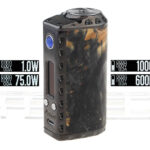 Authentic Marvec Priest 75W TC VW APV Box Mod