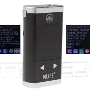 Authentic Mlife M120S 120W TC VW PAV Box Mod