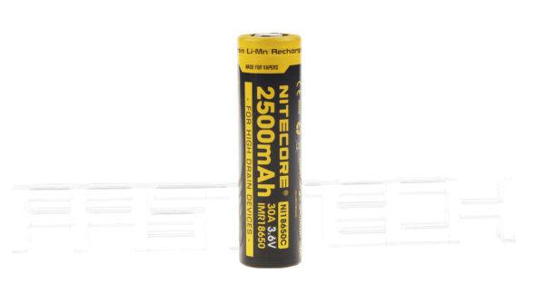 Authentic Nitecore IMR 18650 3.6V 2500mAh Rechargeable Li-Ion Battery